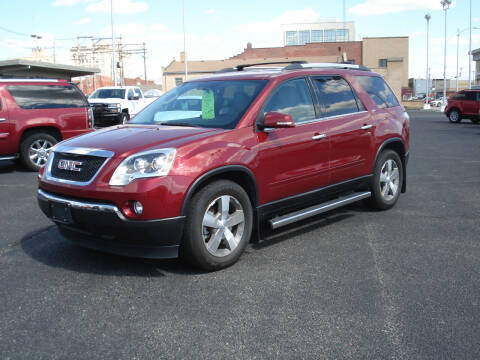 2011 GMC Acadia for sale at Shelton Motor Company in Hutchinson KS
