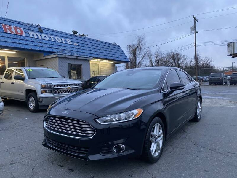 2014 Ford Fusion for sale at RD Motors, Inc in Charlotte NC