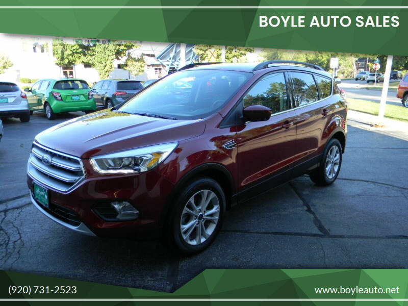 2017 Ford Escape for sale at Boyle Auto Sales in Appleton WI