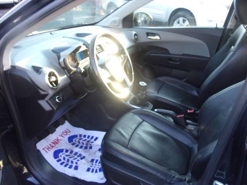 2013 Chevrolet Sonic LTZ Manual 4dr Sedan - Lanham MD