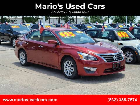 2013 Nissan Altima for sale at Mario's Used Cars in Houston TX