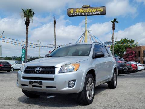2009 Toyota RAV4 for sale at A MOTORS SALES AND FINANCE in San Antonio TX