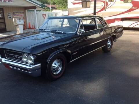 1964 Pontiac GTO for sale at Classic Car Deals in Cadillac MI