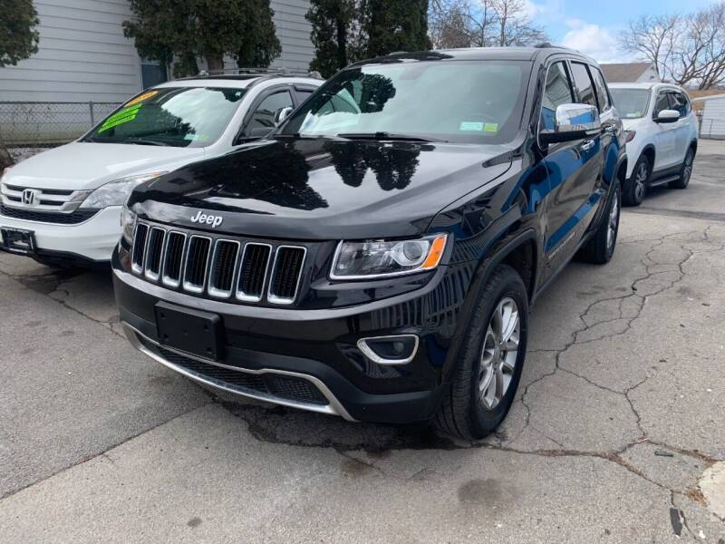 2015 Jeep Grand Cherokee for sale at DARS AUTO LLC in Schenectady NY