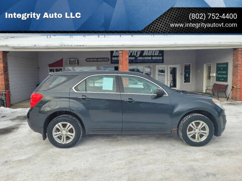 2014 Chevrolet Equinox for sale at Integrity Auto LLC - Integrity Auto 2.0 in St. Albans VT