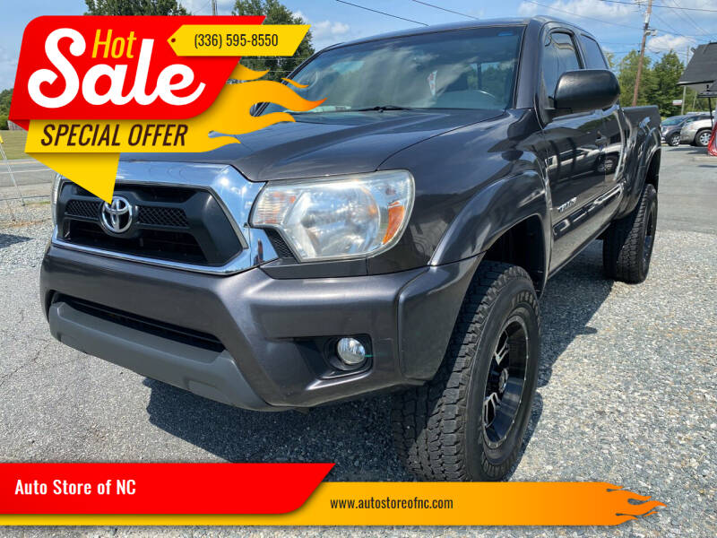 2013 Toyota Tacoma for sale at Auto Store of NC in Walkertown NC