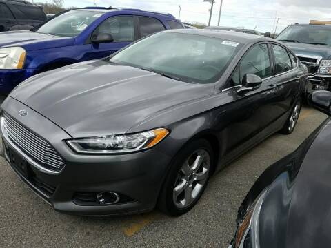 2014 Ford Fusion for sale at Cj king of car loans/JJ's Best Auto Sales in Troy MI