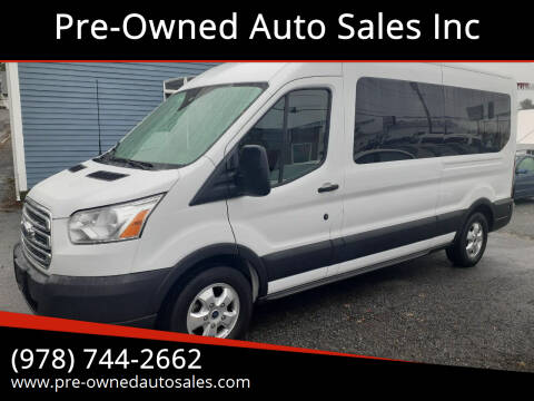 2019 Ford Transit Passenger for sale at Pre-Owned Auto Sales Inc in Salem MA