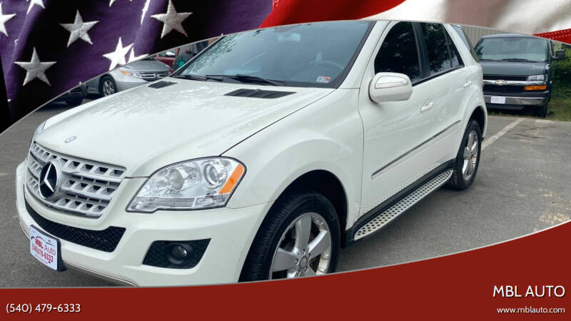 2009 Mercedes-Benz M-Class for sale at MBL Auto Woodford in Woodford VA