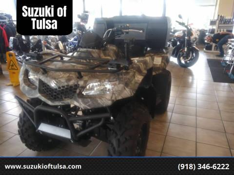 2019 Suzuki KingQuad 400 ASi for sale at Suzuki of Tulsa in Tulsa OK