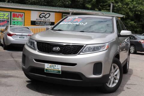 2014 Kia Sorento for sale at Go Auto Sales in Gainesville GA
