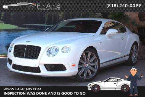 2014 Bentley Continental for sale at Best Car Buy in Glendale CA
