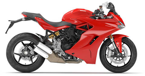 2020 Ducati Supersport S Red for sale at Peninsula Motor Vehicle Group in Oakville Ontario NY