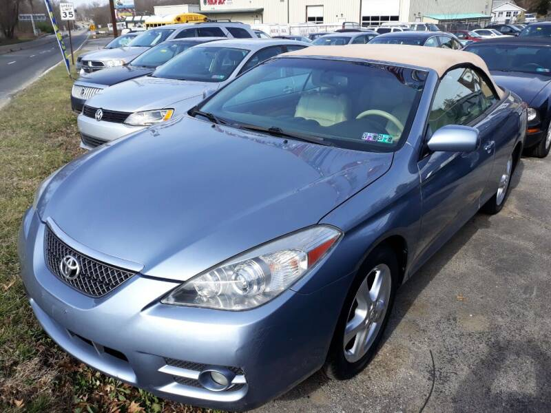 2008 Toyota Camry Solara for sale at GALANTE AUTO SALES LLC in Aston PA