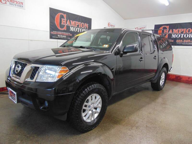 2015 Nissan Frontier for sale at Champion Motors in Amherst NH