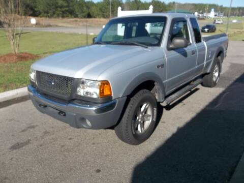 2002 Ford Ranger for sale at Anderson Wholesale Auto in Warrenville SC