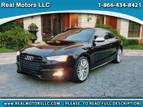 2015 Audi S5 for sale at Real Motors LLC in Clearwater FL