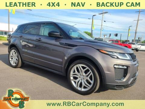 2016 Land Rover Range Rover Evoque for sale at R & B Car Company in South Bend IN