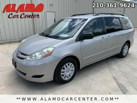 2007 Toyota Sienna for sale at Alamo Car Center in San Antonio TX