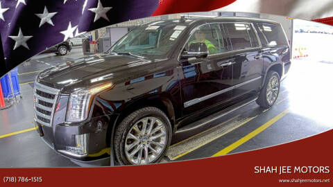 2019 Cadillac Escalade ESV for sale at Shah Jee Motors in Woodside NY