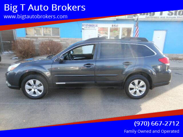 2012 Subaru Outback for sale at Big T Auto Brokers in Loveland CO