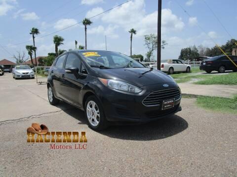 2014 Ford Fiesta for sale at HACIENDA MOTORS, LLC in Brownsville TX