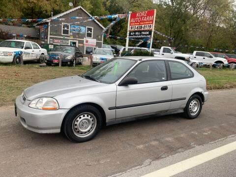 1998 Honda Civic for sale at Korz Auto Farm in Kansas City KS