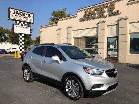 2018 Buick Encore for sale at JACK'S MOTOR COMPANY in Van Buren AR