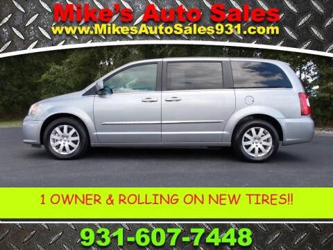 2016 Chrysler Town and Country for sale at Mike's Auto Sales in Shelbyville TN
