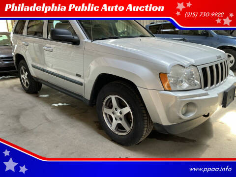 2007 Jeep Grand Cherokee for sale at Philadelphia Public Auto Auction in Philadelphia PA