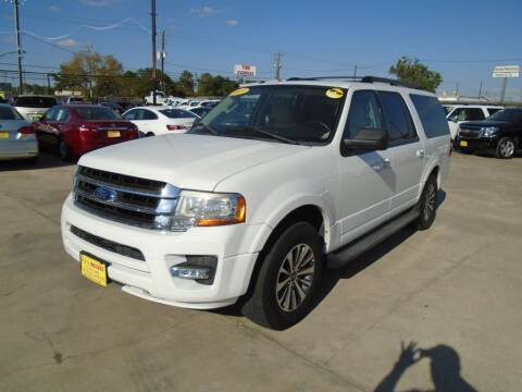 2015 Ford Expedition EL for sale at BAS MOTORS in Houston TX