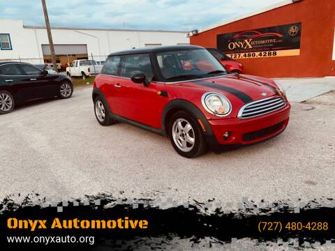 2007 MINI Cooper for sale at ONYX AUTOMOTIVE, LLC in Largo FL
