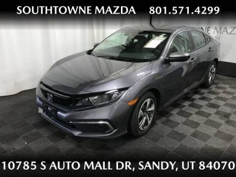 2020 Honda Civic for sale at Southtowne Mazda of Sandy in Sandy UT