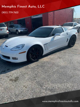 2012 Chevrolet Corvette for sale at Memphis Finest Auto, LLC in Memphis TN