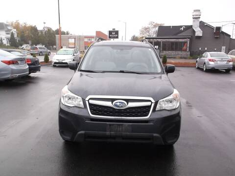 2015 Subaru Forester for sale at Sharp Auto Center in Worcester MA