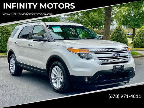 2015 Ford Explorer for sale at INFINITY MOTORS in Gainesville GA