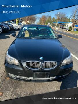 2010 BMW 5 Series for sale at Manchester Motors in Manchester CT