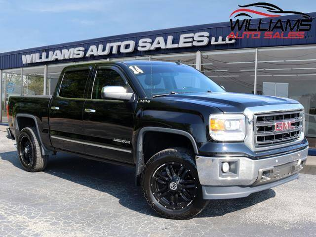 2014 GMC Sierra 1500 for sale at Williams Auto Sales, LLC in Cookeville TN
