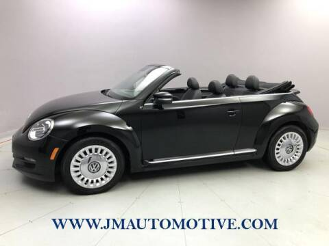 2013 Volkswagen Beetle Convertible for sale at J & M Automotive in Naugatuck CT