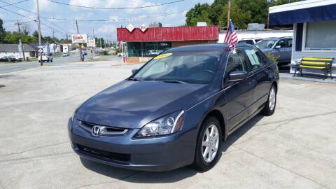 2004 Honda Accord for sale at West Elm Motors in Graham NC
