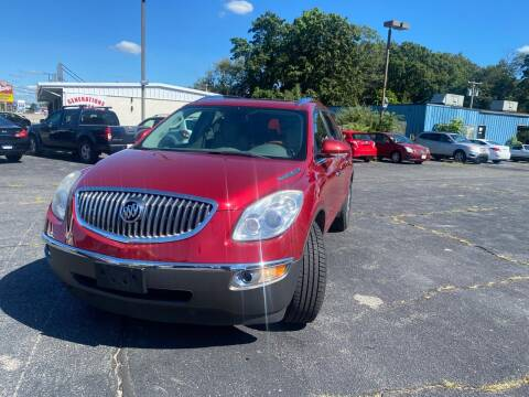 2012 Buick Enclave for sale at M & J Auto Sales in Attleboro MA