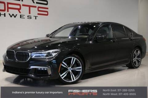 2016 BMW 7 Series for sale at Fishers Imports in Fishers IN