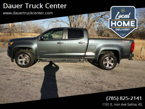 2015 Chevrolet Colorado for sale at Dauer Truck Center in Salina KS