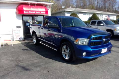 2014 RAM Ram Pickup 1500 for sale at Dave Franek Automotive in Wantage NJ