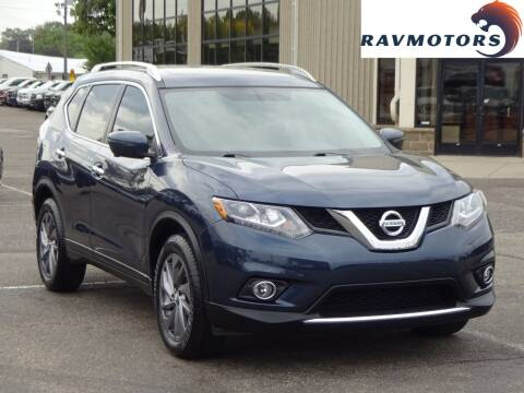 2016 Nissan Rogue for sale at RAVMOTORS 2 in Crystal MN
