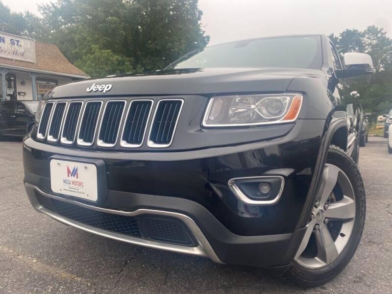 2014 Jeep Grand Cherokee for sale at Mega Motors in West Bridgewater MA