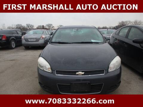 2008 Chevrolet Impala for sale at First Marshall Auto Auction in Harvey IL