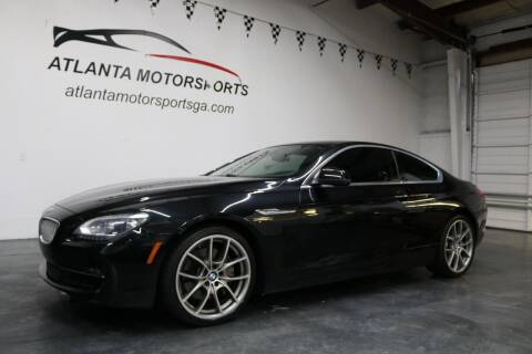 2012 BMW 6 Series for sale at Atlanta Motorsports in Roswell GA