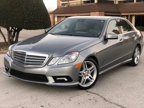 2011 Mercedes-Benz E-Class for sale at Executive Auto Sales DFW LLC in Arlington TX