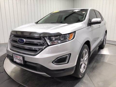 2017 Ford Edge for sale at HILAND TOYOTA in Moline IL